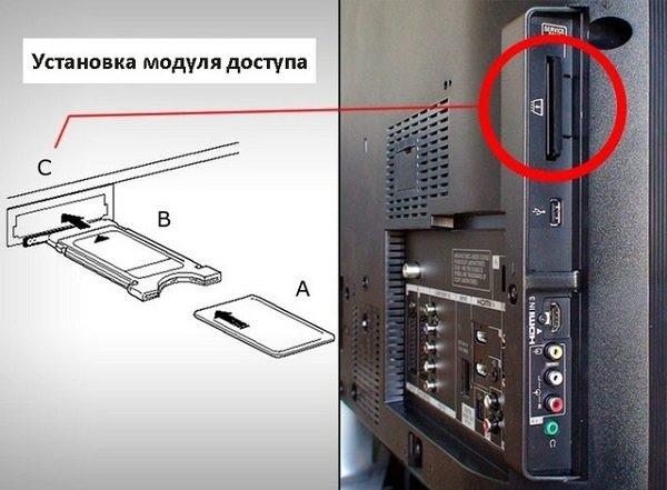 модуль для спутникового тв